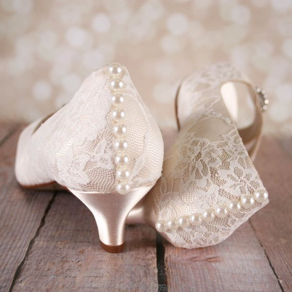3a73e16b458 Lace Wedding Shoes