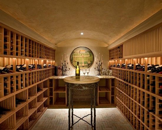 Love the lighting and the neatness Settings Pinterest Wine