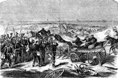 Preussiske officerer på udflugt til Skagen