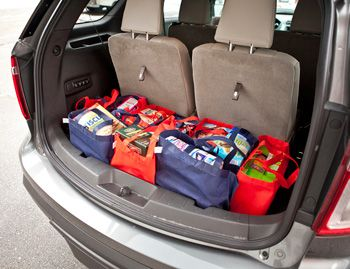 2016 ford expedition with infant car seats inside google search - Ford Explorer 2015 Trunk Space