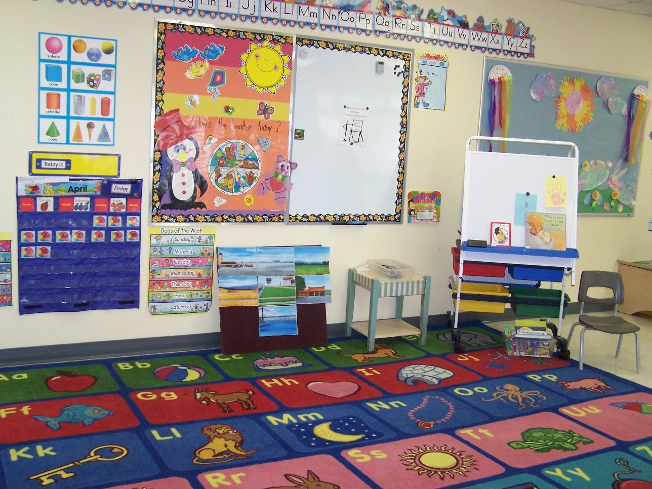 Classroom Decoration For Nursery Class : My classroom will be full of learning. numbers shapes and letters