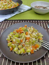 La Cuchara de Neter por Ángel Soliño: Arroz salteado con verduras