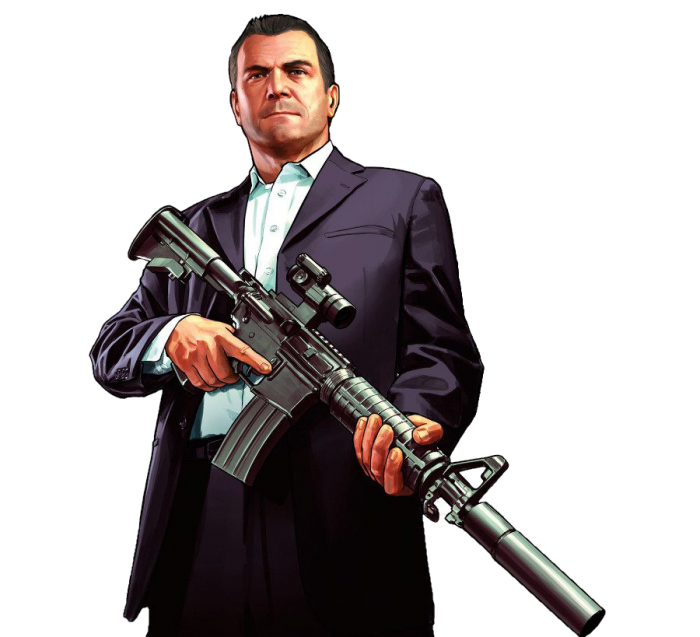 Michael De Santa Png File Grand Theft Auto Grand Theft Auto Artwork Gta 5