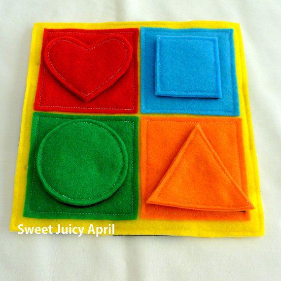 Forma y Color que empareja Velcro silencioso por SweetJuicyApril ...