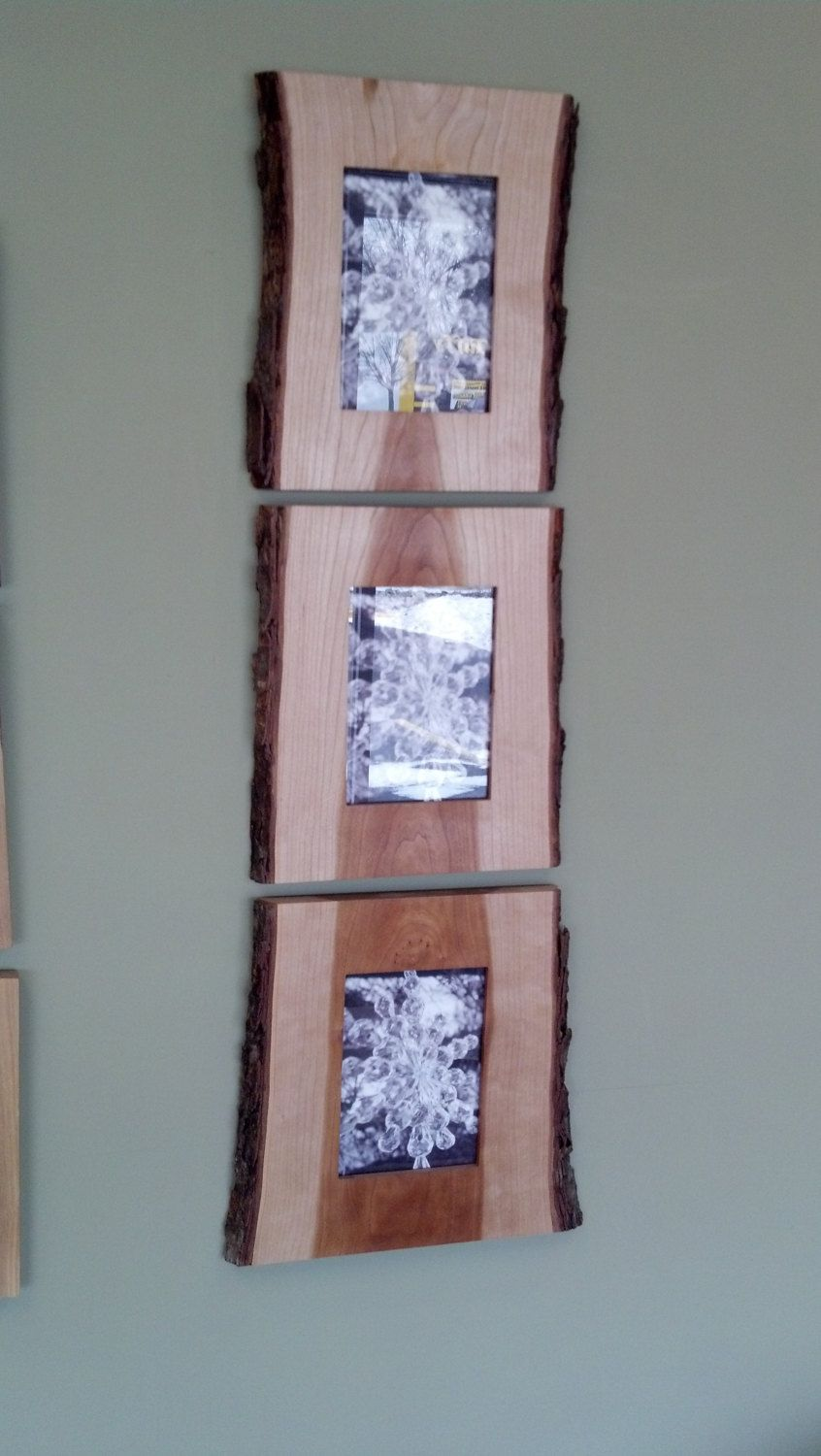 Live edge picture frames carpentry third and woods latest from gillengerten carpentry three live edge picture frames via etsy jeuxipadfo Gallery