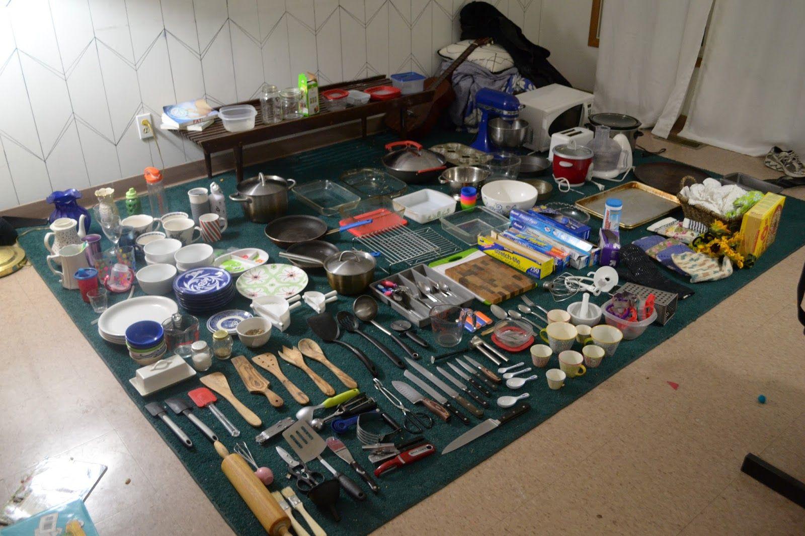 Kitchen Stuff Konmari Method Organizing Konmari