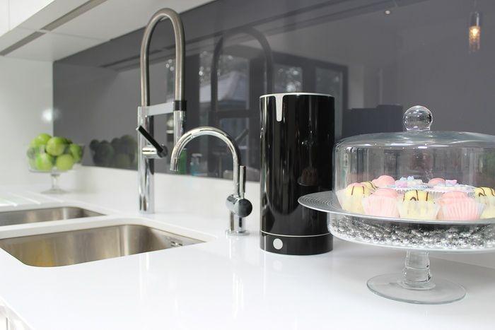 sink tidy | Tidy kitchen, Sink, Kitchen clutter