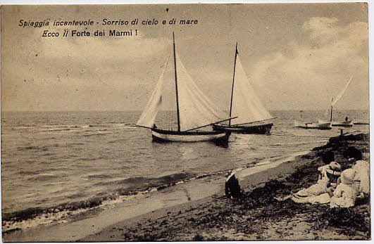 Forte Dei Marmi 5 Jpg 43970 Byte Cartoline Storia Antica Toscana