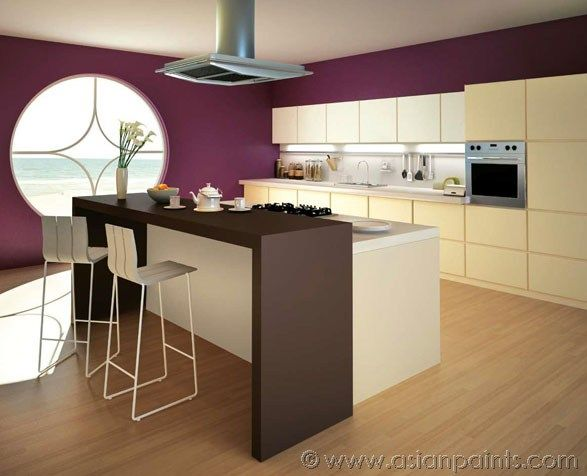 Satin Enamel Kitchen Living Room Asian Paints Kitchen Colors