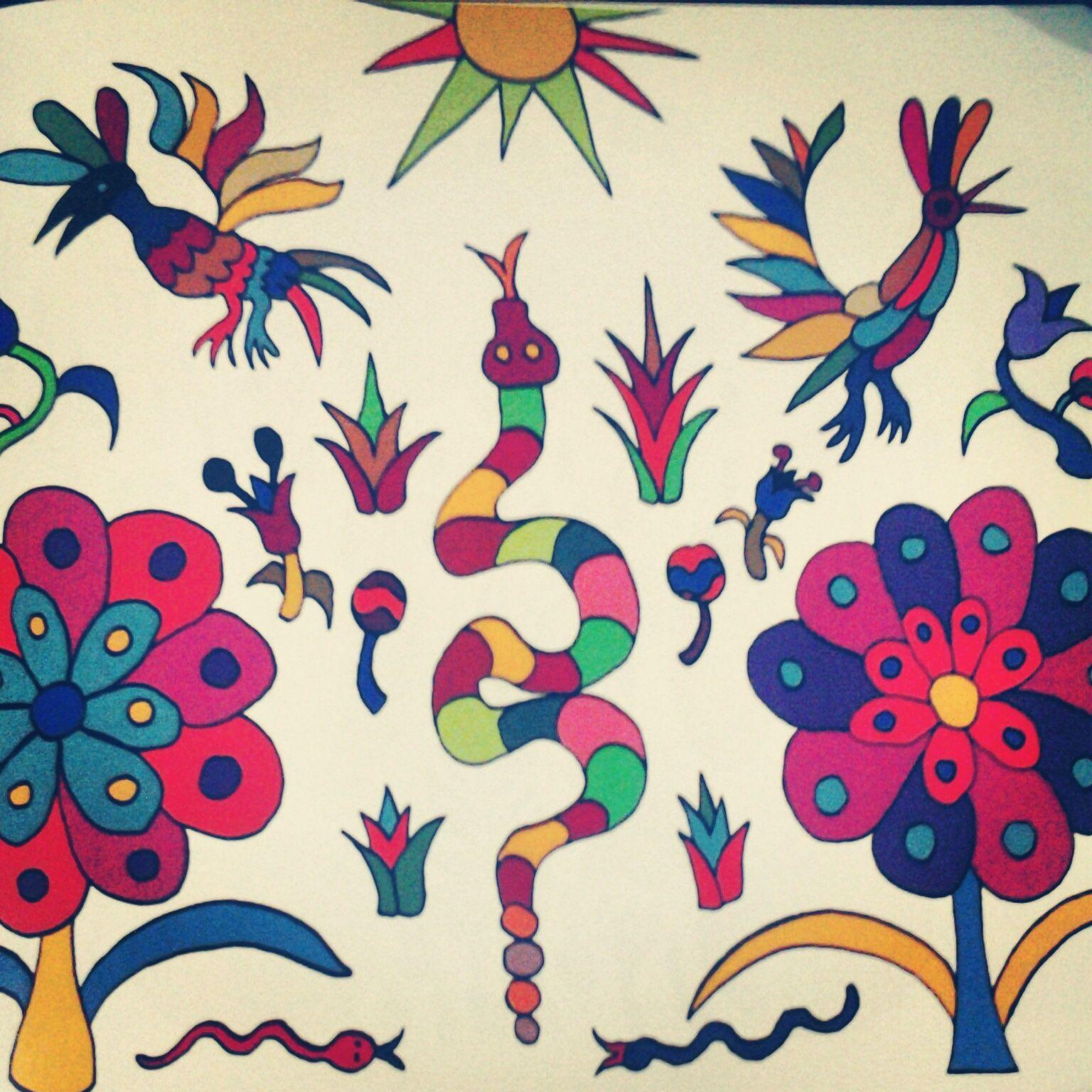 Da hogaehe hñähñu: Adivinanzas Otomi | Patrones, dibujos de bordado ...