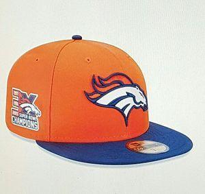 33f60470266 Denver Broncos new era 3x Super Bowl champions 59fifty hat