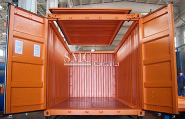 20 Feet Hard Top Open Top Container Shanghai Metal Corporation Container Container Open Top Outdoor Decor