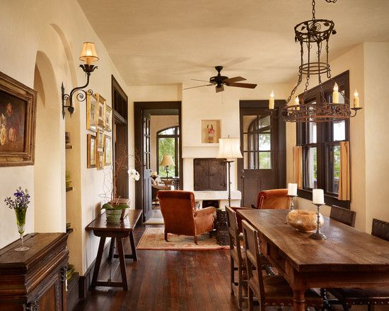 Dining Room Dark Wood Trim Design, Pictures, Remodel, Decor And Ideas