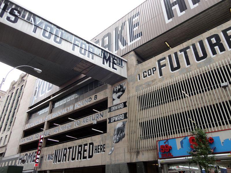 Vernacular Typography Love Letter To Brooklyn Parking Lot Signage Parking Design Design Working