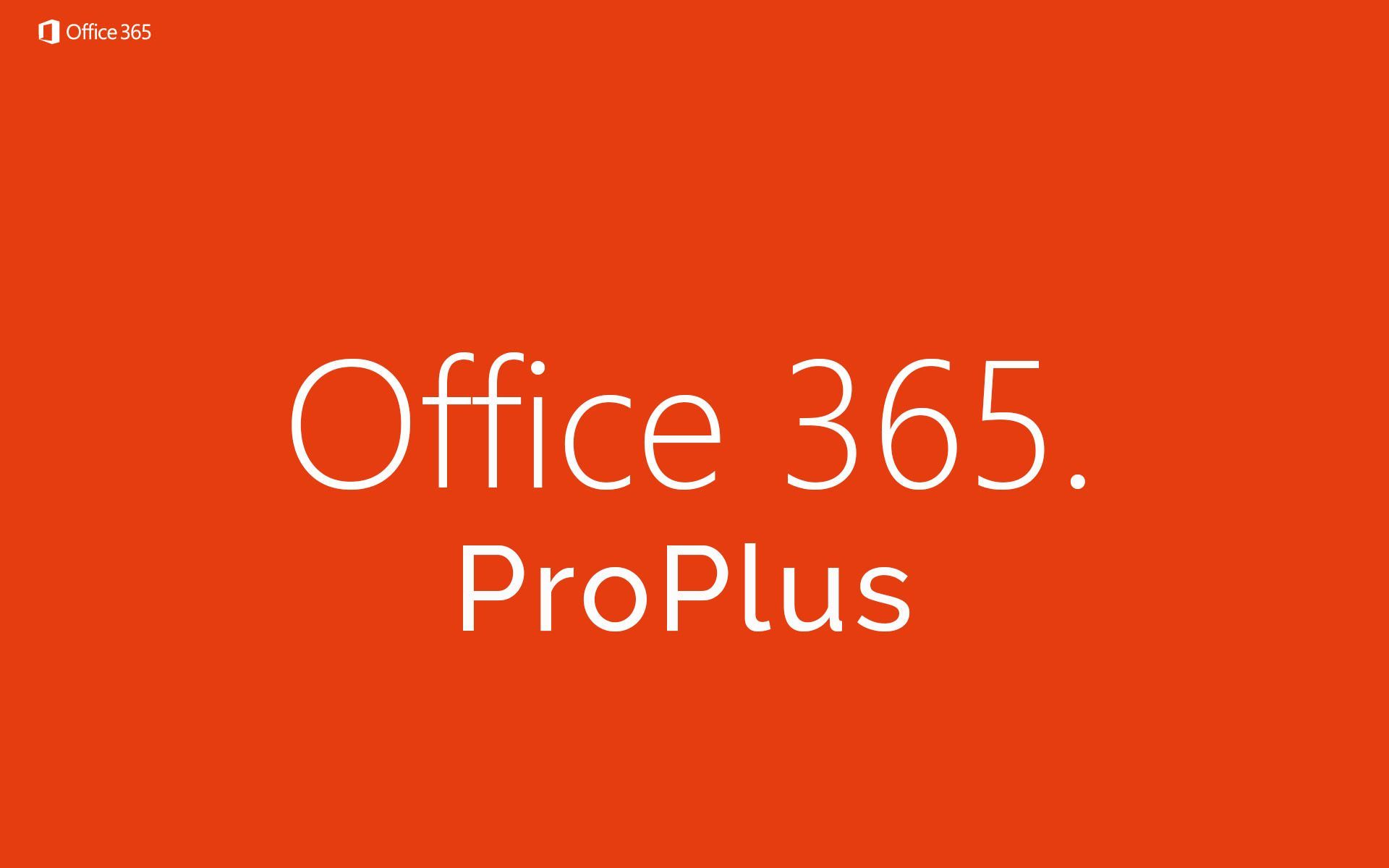 Microsoft Office 365 ProPlus Mac app store, Office 365