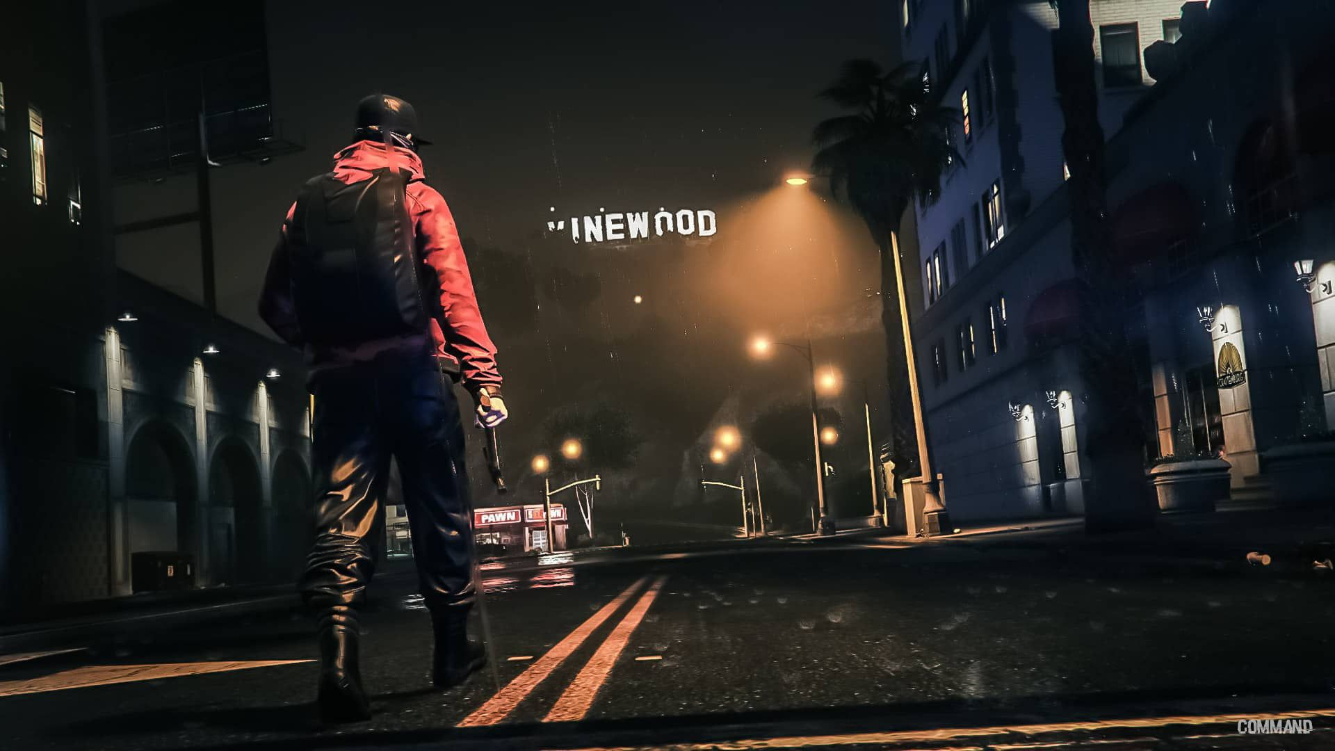 Men S Red Jacket And Black Backpack Gta5 Grand Theft Auto V Grand Theft Auto Hollywood 1080p Wallpaper Hdwallpaper De Gta Black Backpack Grand Theft Auto