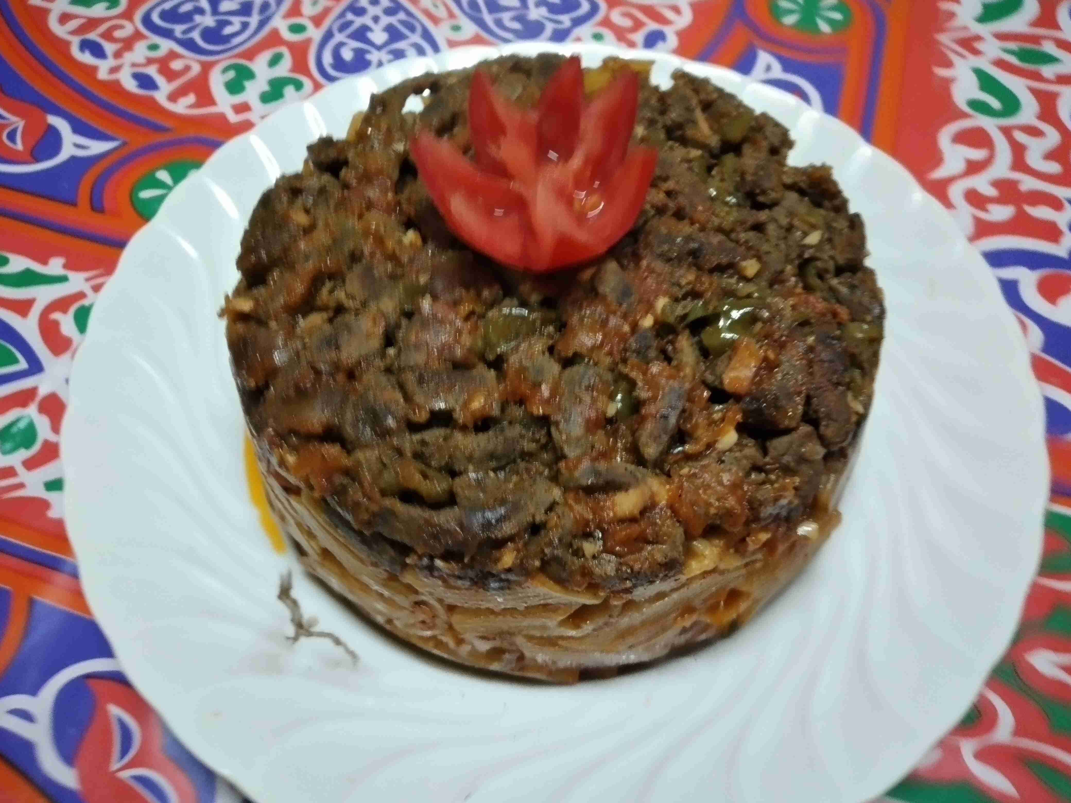 طاجن مكرونه بالكبده زاكي Recipe Recipes Food Main Dishes