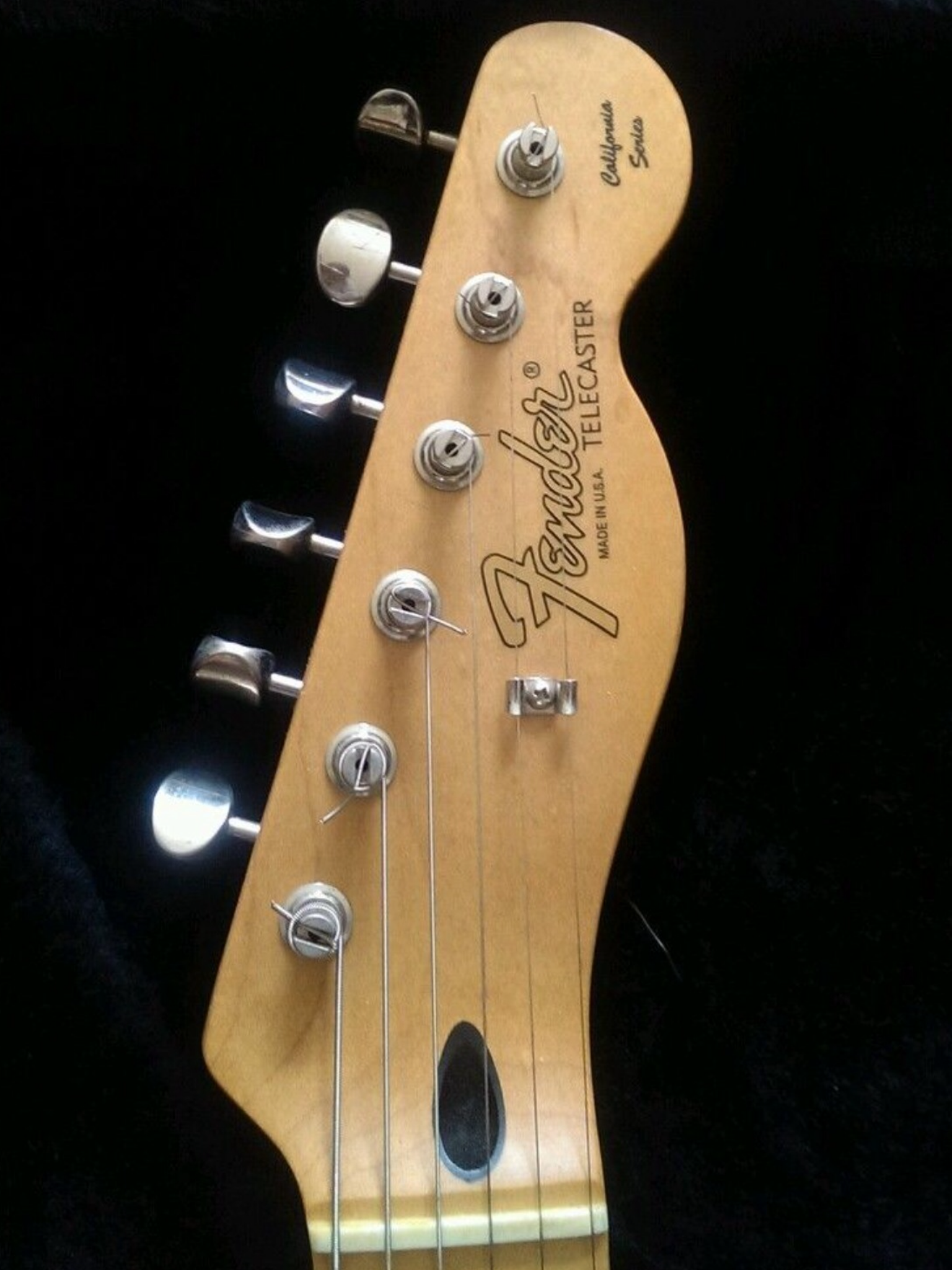 97 98 California Series Telecaster Headstock Fender Guitars Telecaster Guitar