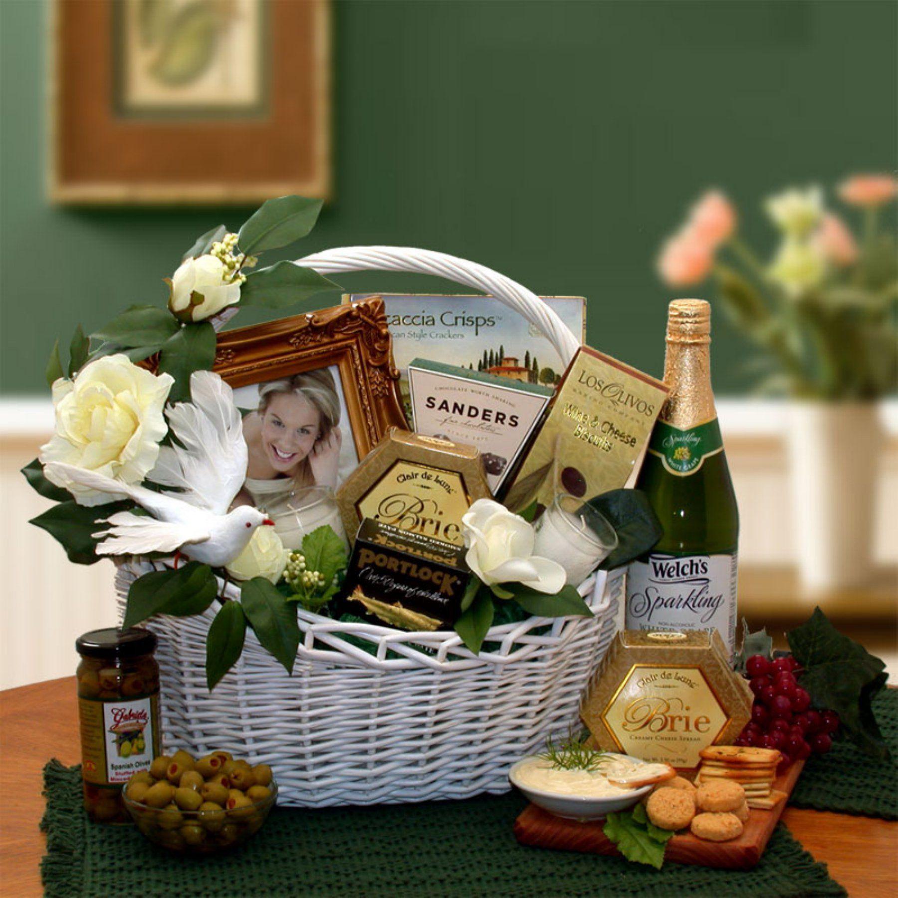 Wedding Wishes Gift Basket - 87011