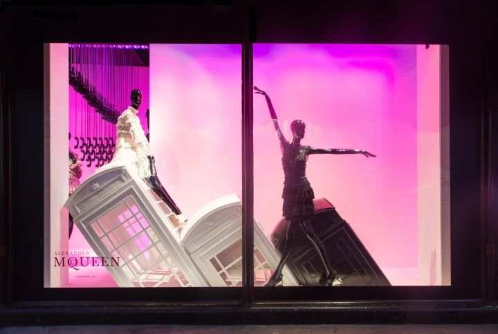 Harrods London Calling windows by SFD, London – UK » Retail Design Blog