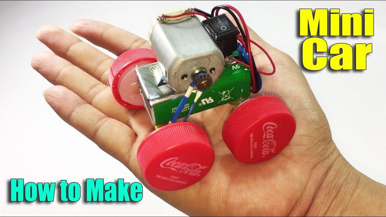 How To Make Car Toy Using Dc Motor Diy At Home Life Hacks Theme Snack Creative Kids Snacks Life Hacks