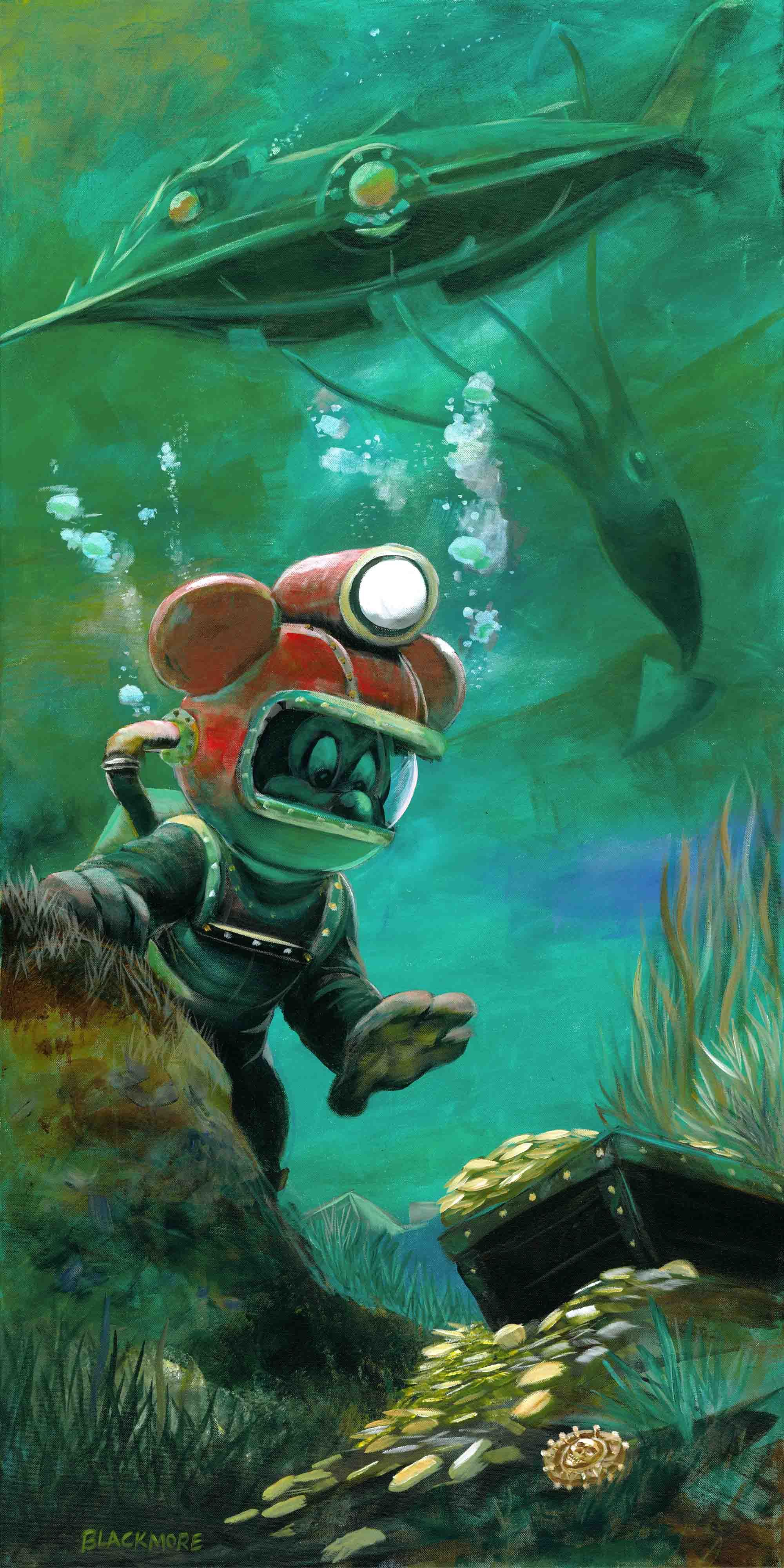 Leagues Under The Sea By Blackmore