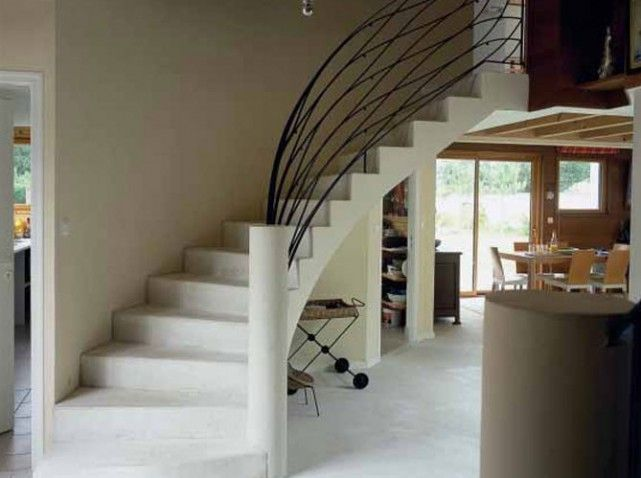Awesome Amenagement Salon Avec Escalier Ideas - lionsofjudah.us ...