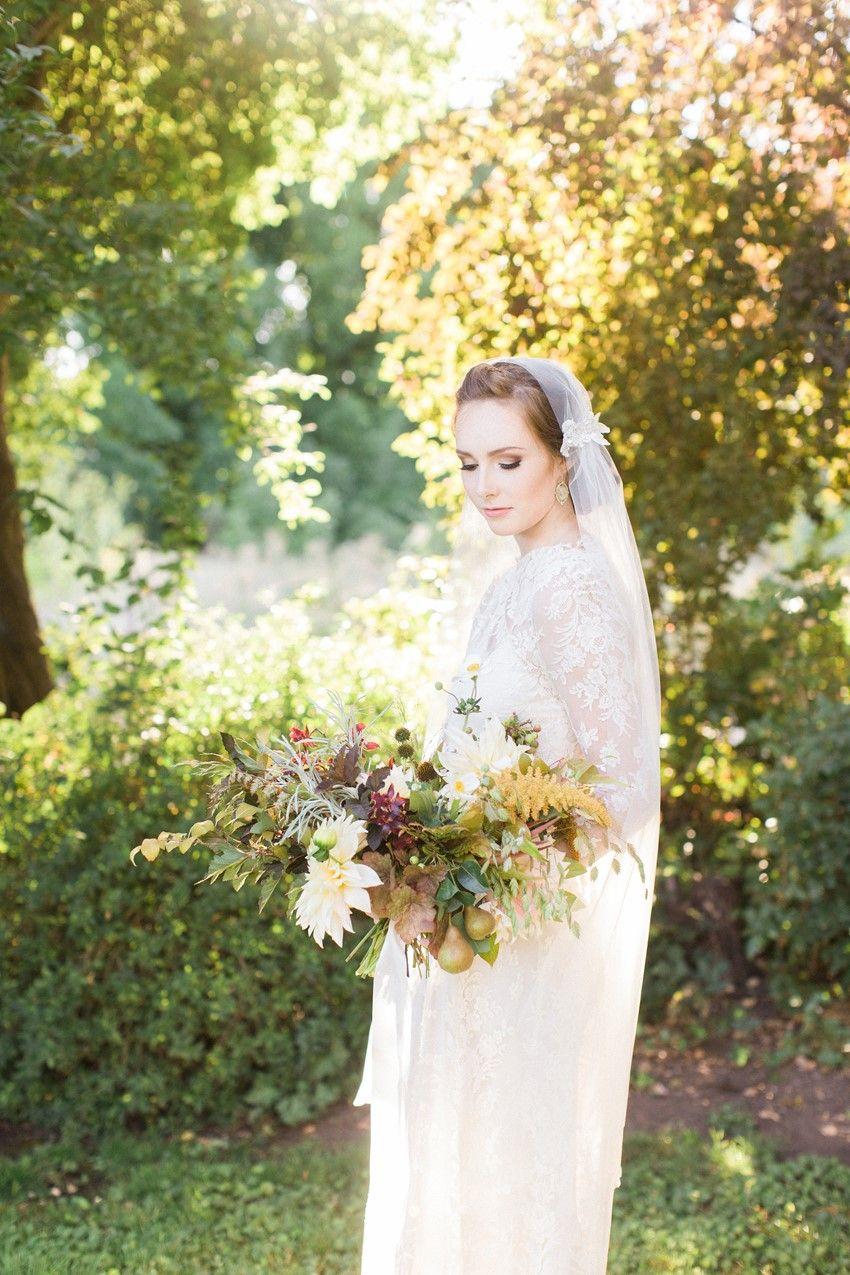 Elegant Fall Anne Of Green Gables Wedding Inspiration Creative
