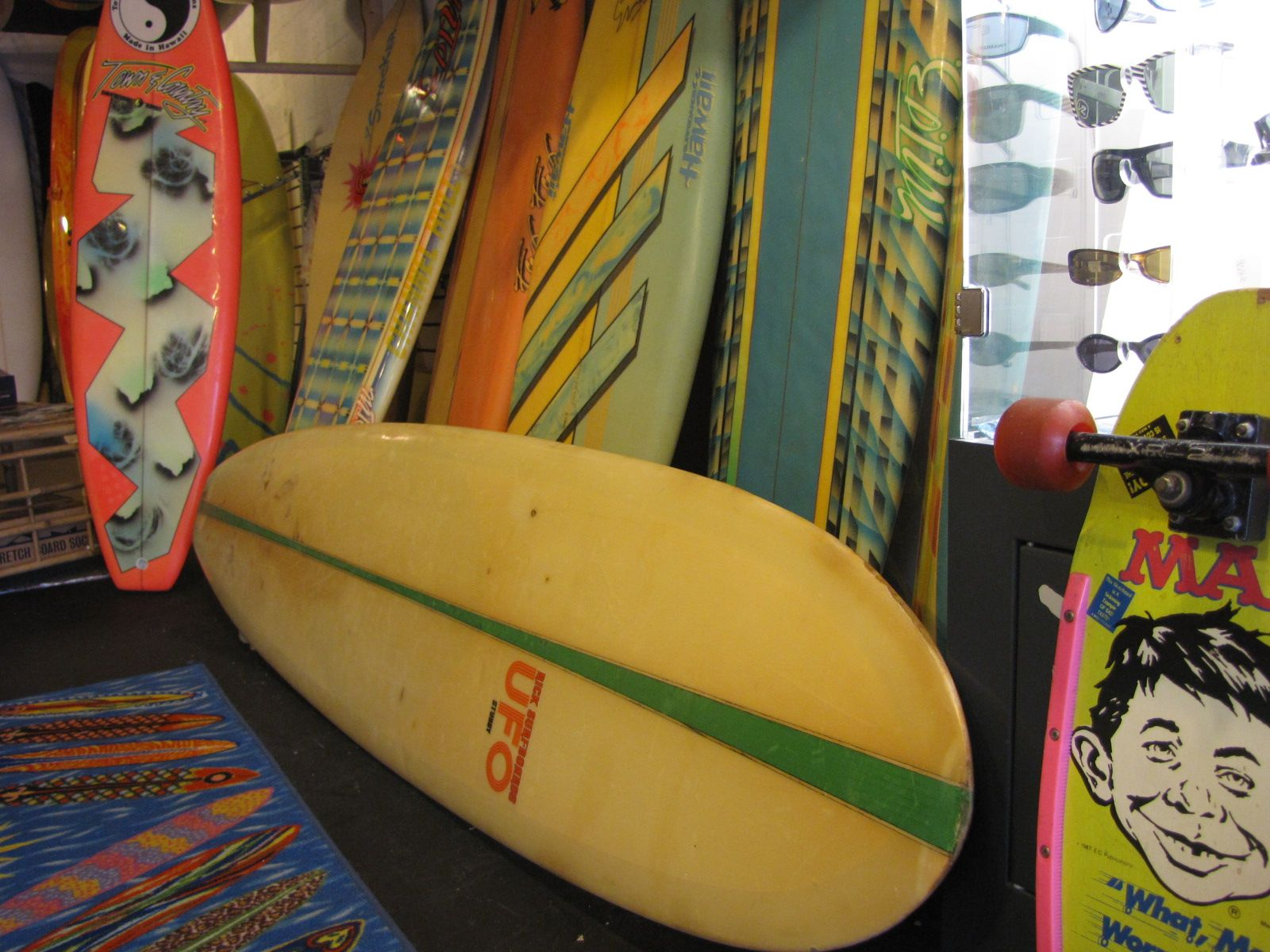 Vintage Surfboard Longboard Rick UFO | Grin from within ...