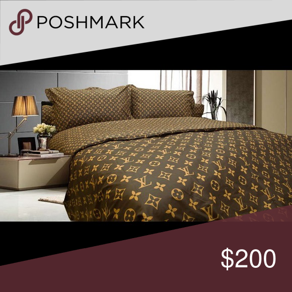Louis Vuitton Bed Sheets Custom Made Queen Flat Sheets Fitted Sheets