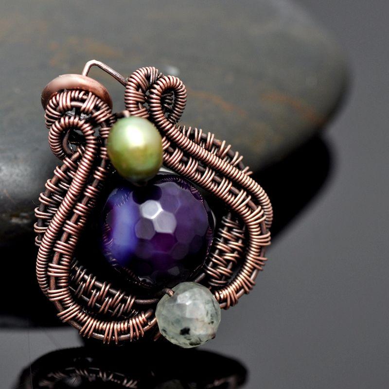 Bead Vase Pendant PDF Tutorial - Nicole Hanna Jewelry | nichole ...