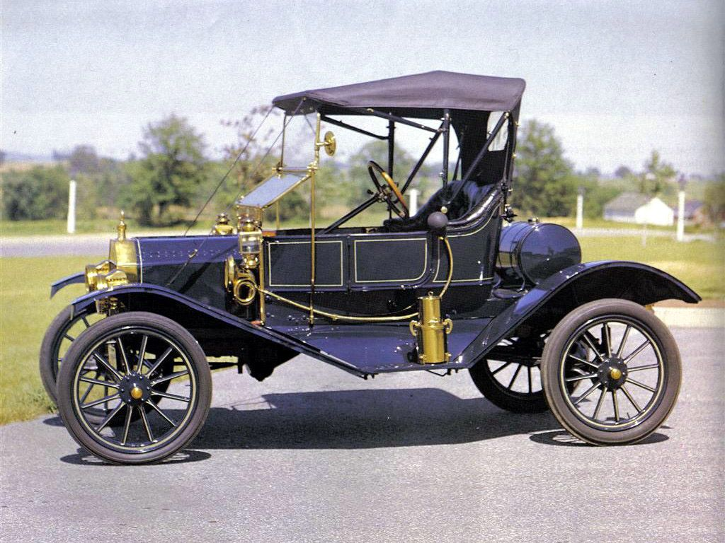 Ford Model T Torpedo Runabout 1910 Old Classic Cars Vintage