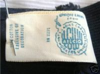"""union label dating vintage Here's an excellent guide to union labels, with photos of the labels layla: look for labels when there's a label, a label tells you where and very often when a piece is from be careful of fraudulent vintage with labels that look too new — unless it's new old stock, but even then if its """"designer"""" be careful."""
