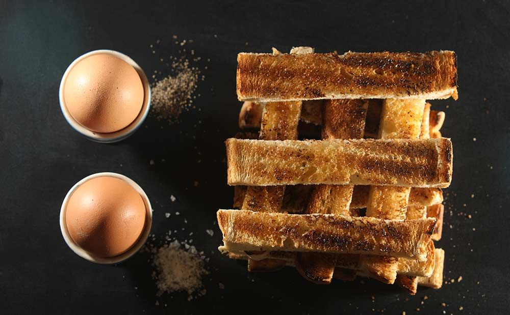 Studio and product photography  | A little bit of toast...