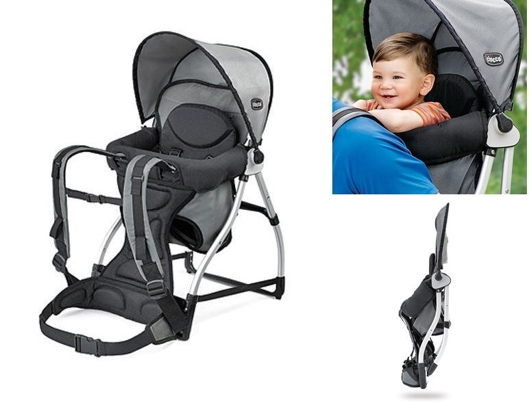 Baby Carrier Backpack Canopy Kid Toddle Seat Folding