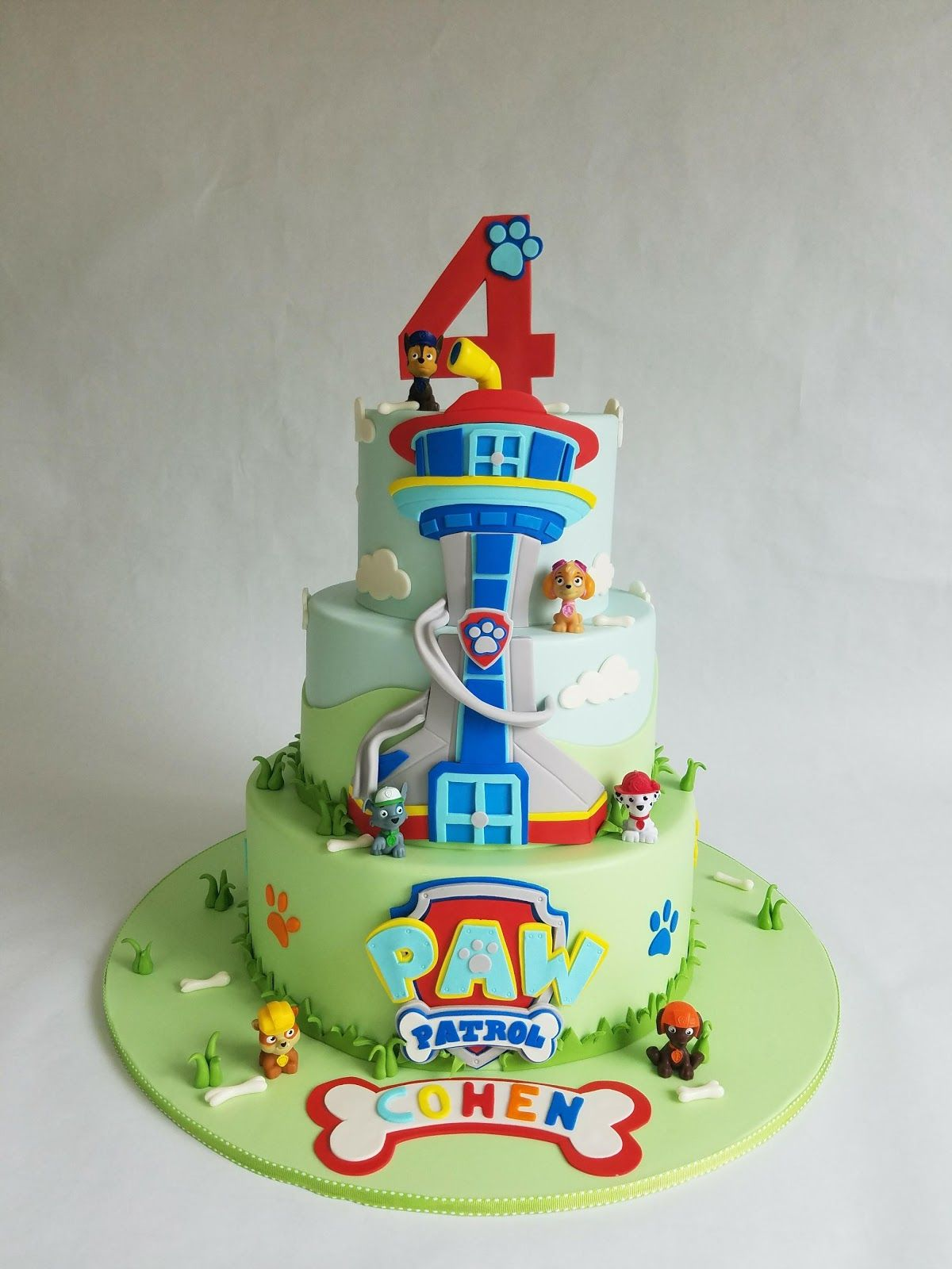 Paw Patrol Party With Images Paw Patrol Birthday Cake Paw