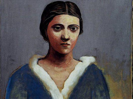 Portrait de femme (Olga) Picasso