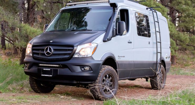 sportsmobile mercedes sprinter 4x4 wohnmobil camping. Black Bedroom Furniture Sets. Home Design Ideas