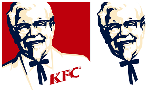 14 Logo Perspectives That You Can T Unsee Once You Ve Seen Them Optical Illusions Kfc Colonel Sanders