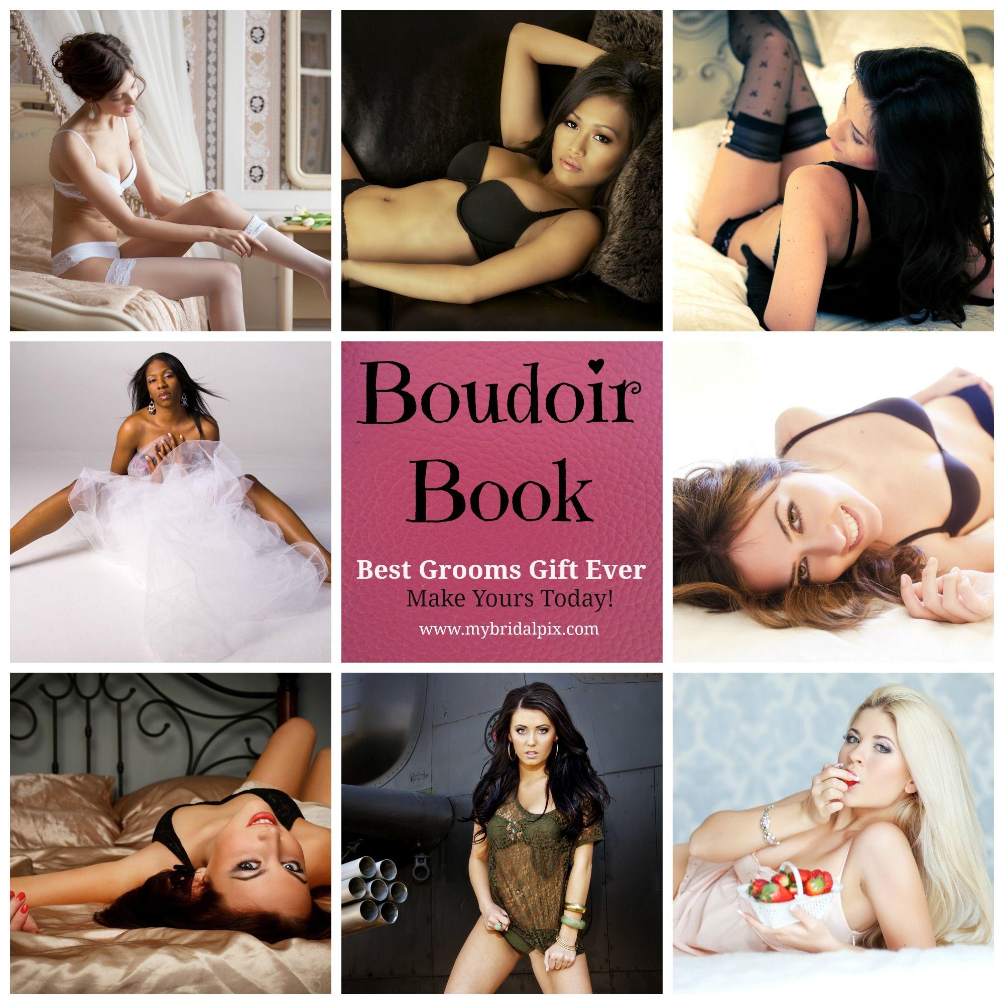 Bridal Boudoir Book for Grooms Gift