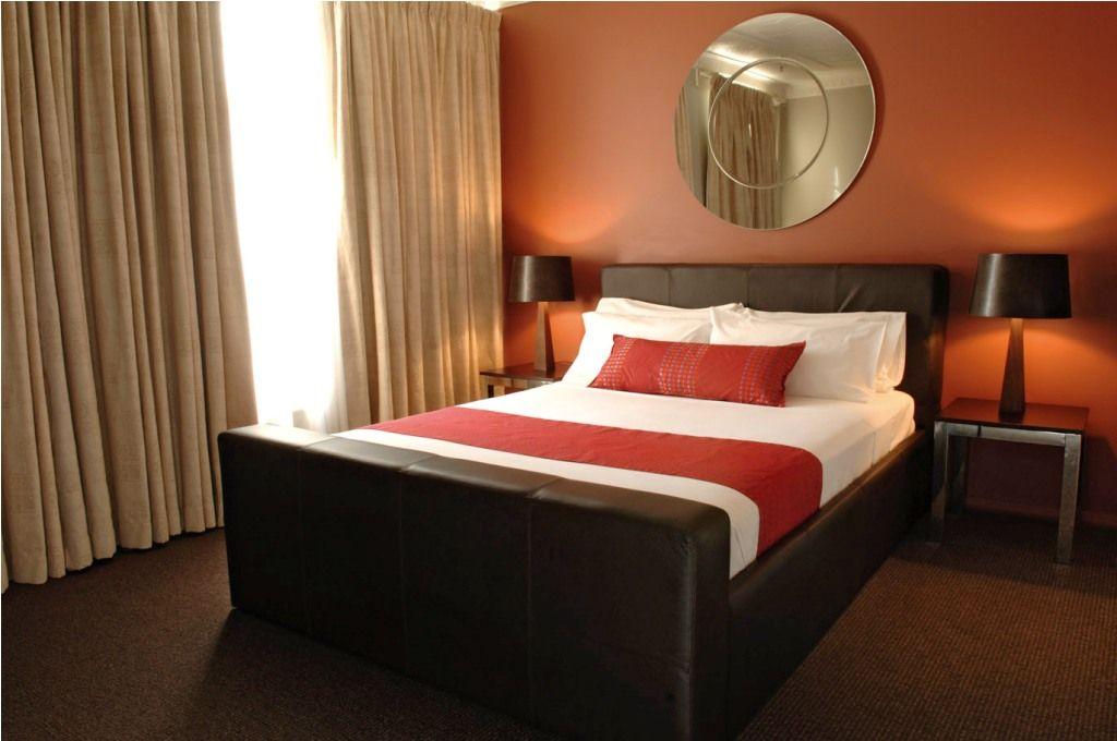 Elegant Red Bedroom Decorating Pillows Bedroom Red