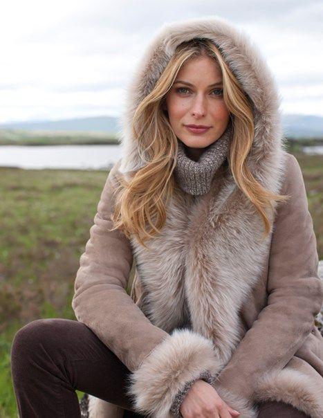 7538b9bb24f Mylor Toscana Hooded Jacket   Sheepskin Jackets   Style in 2019 ...