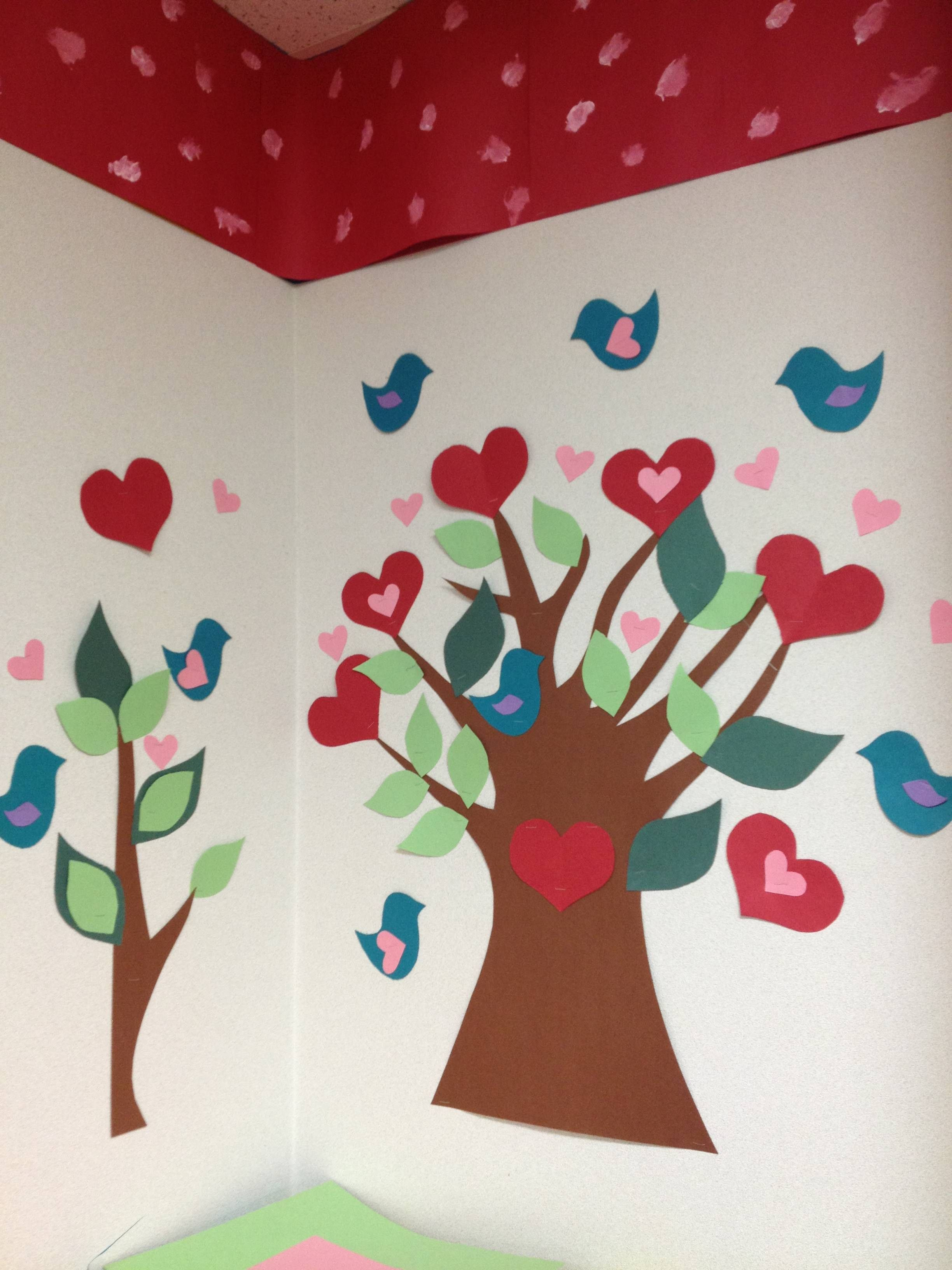 Valentine S Day Classroom Decoration Ideas ~ Love tree ideas for toddler classroom valentines day