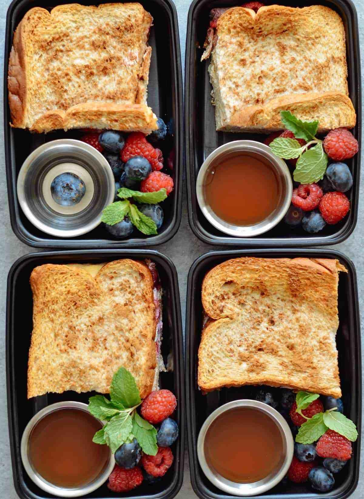 Stuffed French Toast Meal Prep Meal Prep On Fleek Resep Resep Sarapan Menu Sarapan Sehat Sarapan Sehat