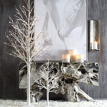 Led Glitter Tree 3 Holiday Decor Collections Z