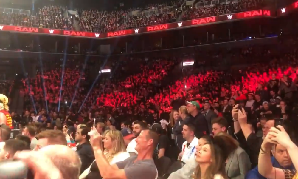 All Elite Wrestling Responds After Fans Chanted For Aew On Wwe