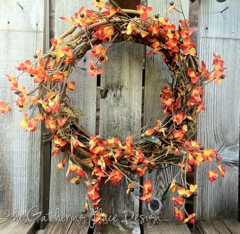 Love this wreath for Fall!