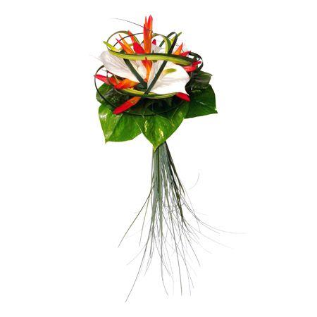 Ambre bouquet mari e d co exotique pinterest ambre for Bouquet exotique