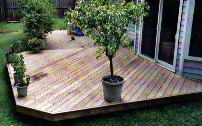 patio ideas with wood wood pressure treated deck composite deck wood deck over patio - Backyard Wood Patio Ideas