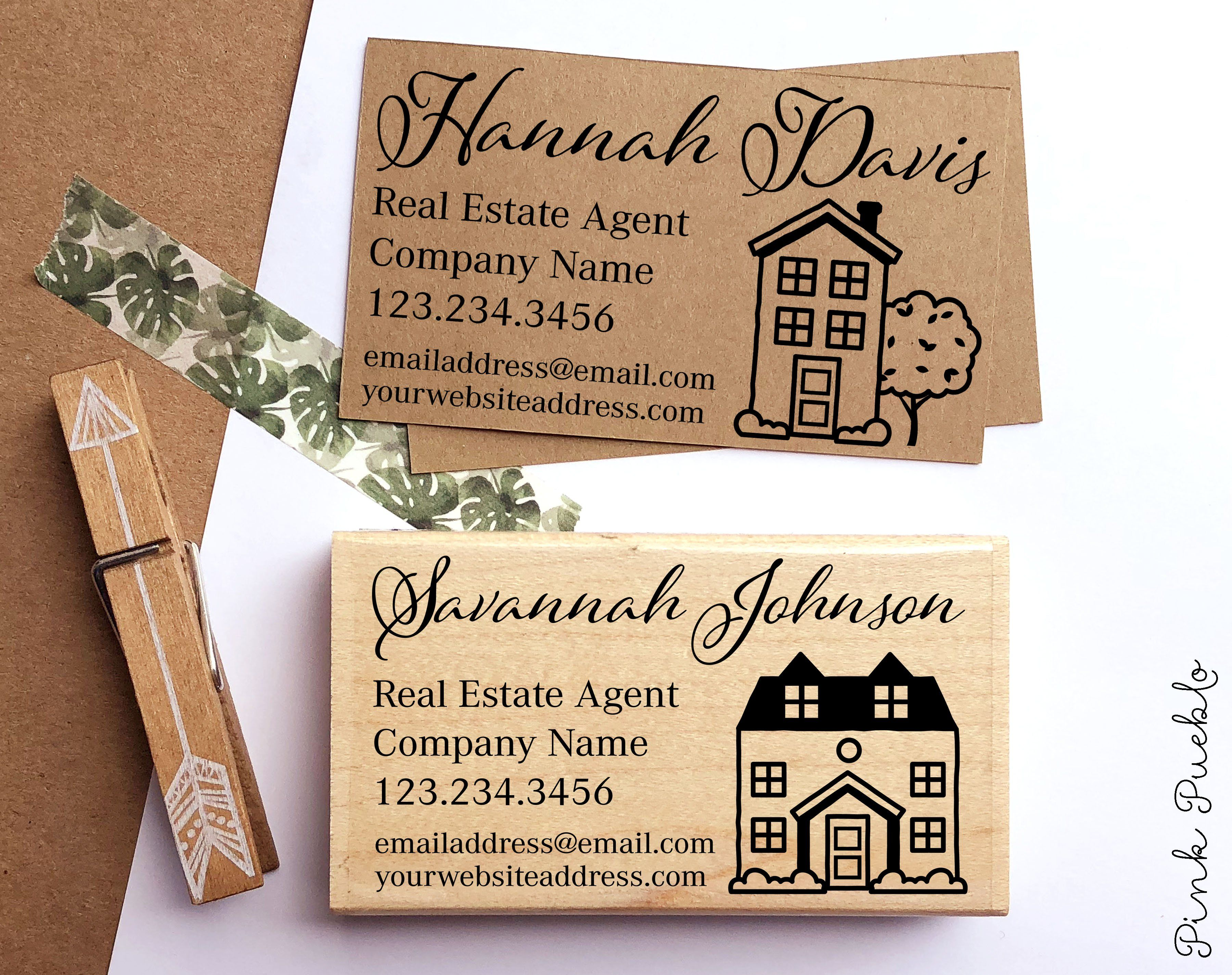 Personalized Real Estate Business Card Stamp Real Estate Agent Business Card Stamp Pinkpueblo Real Estate Business Cards Real Estate Agent Business Cards Real Estate Business